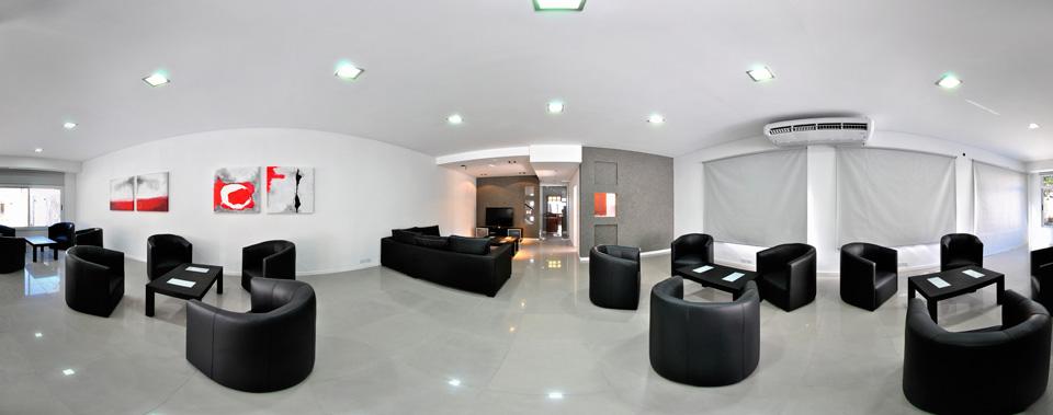 Pilar apart hotel for Salon de usos multiples programa arquitectonico